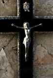 christ crusifié poster