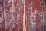 peeling red paint - wild west background poster