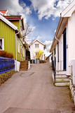 street in city in norway poster