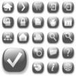 web icons gray_dropshadows