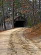 path to covered bridge