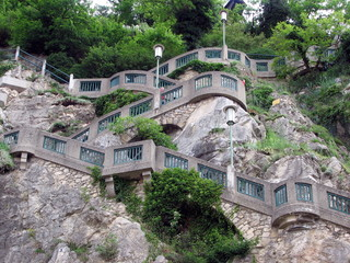 burg staircase