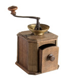 manual coffee grinder poster