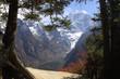 herrliche bergwelt himalaya