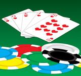 poker luck poster
