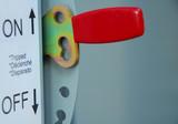 power breaker on-off lever poster