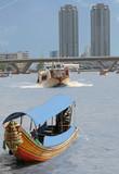 bangkok river view poster
