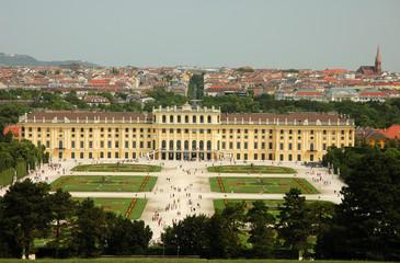 schönbrunn palast in wien