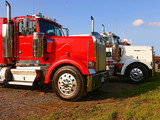 tractor trailer  70096 poster