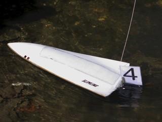 white motor boat #4