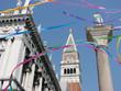 venise - place saint marc (ambiance carnaval)