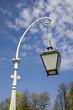 modern lantern in park