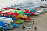 kayak boat rack poster
