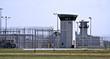 canvas print picture - prison - fences