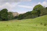 farmland in the lake district poster