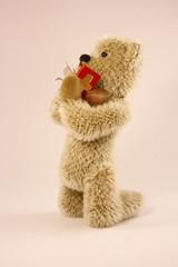 teddy praying