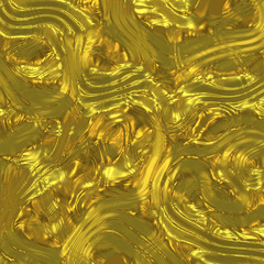 background illustration of raw gold material