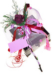 dry rose and jewellery box poster