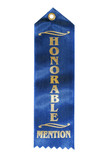 honorable mention ribbon poster