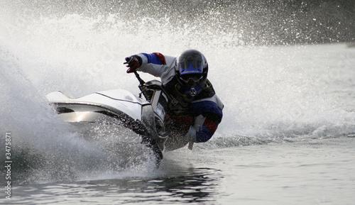 Leinwandbild Motiv jet-ski-soderica
