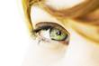 oeil bleu vert regard de femme douceur beauté