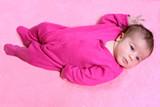 newborn baby girl poster