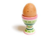 Egg Cup with Egg