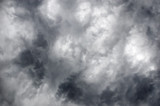 dramatic cloudscape before the storm poster