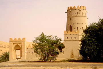 old arabian castle