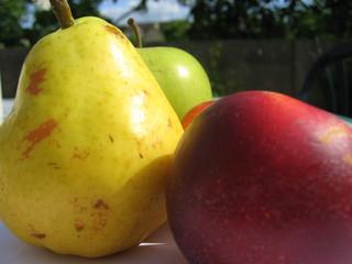 les trois fruits