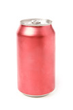 blank soda can poster