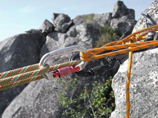 equipamento de escalada