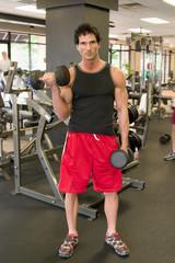 man lifting weights 3