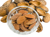 almond nuts poster