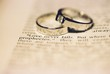 wedding rings - love never fails