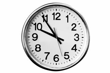 big clock isolated