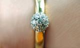 anello con brillantini - 3491423