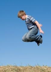 boy jumps