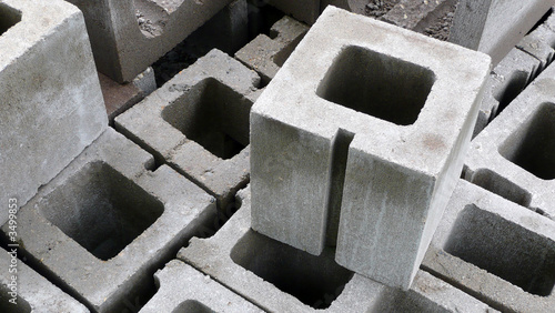 cement blocks - 3499853
