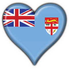 bottone cuore figi - fiji button heart flag