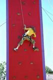 rock-climber poster