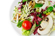 salad with clipping path