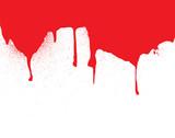 header blood dribble poster
