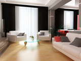 modern interior - Fine Art prints
