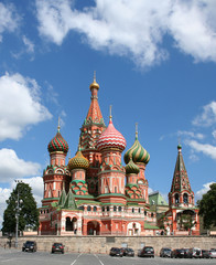 st basil's cathedral on the red square, moscow, russia