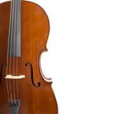 cello on white whith copyspace poster
