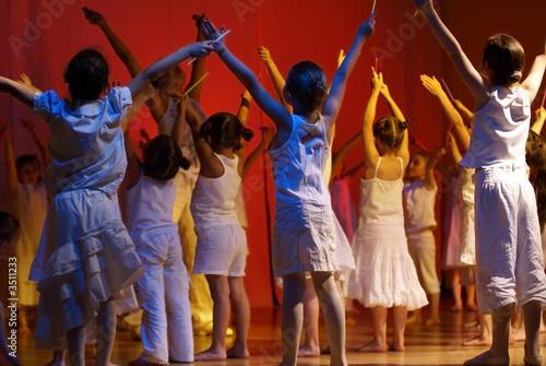 Leinwanddruck Bild spectacle de danse