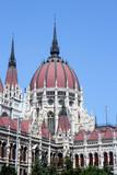 budapest parliament dome poster