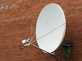 satellite antenna. poster