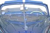old convertible car poster
